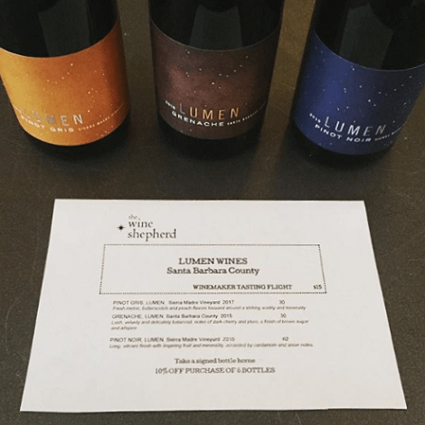 Lumen at Wine Shepherd