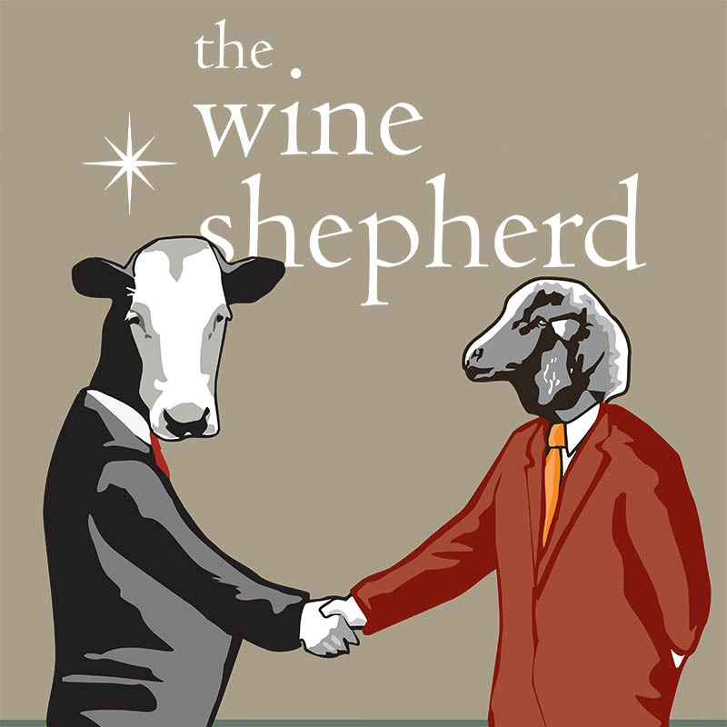 the wine shepherd is Lumen Wines' tasting room in downtown Santa Barbara, CA